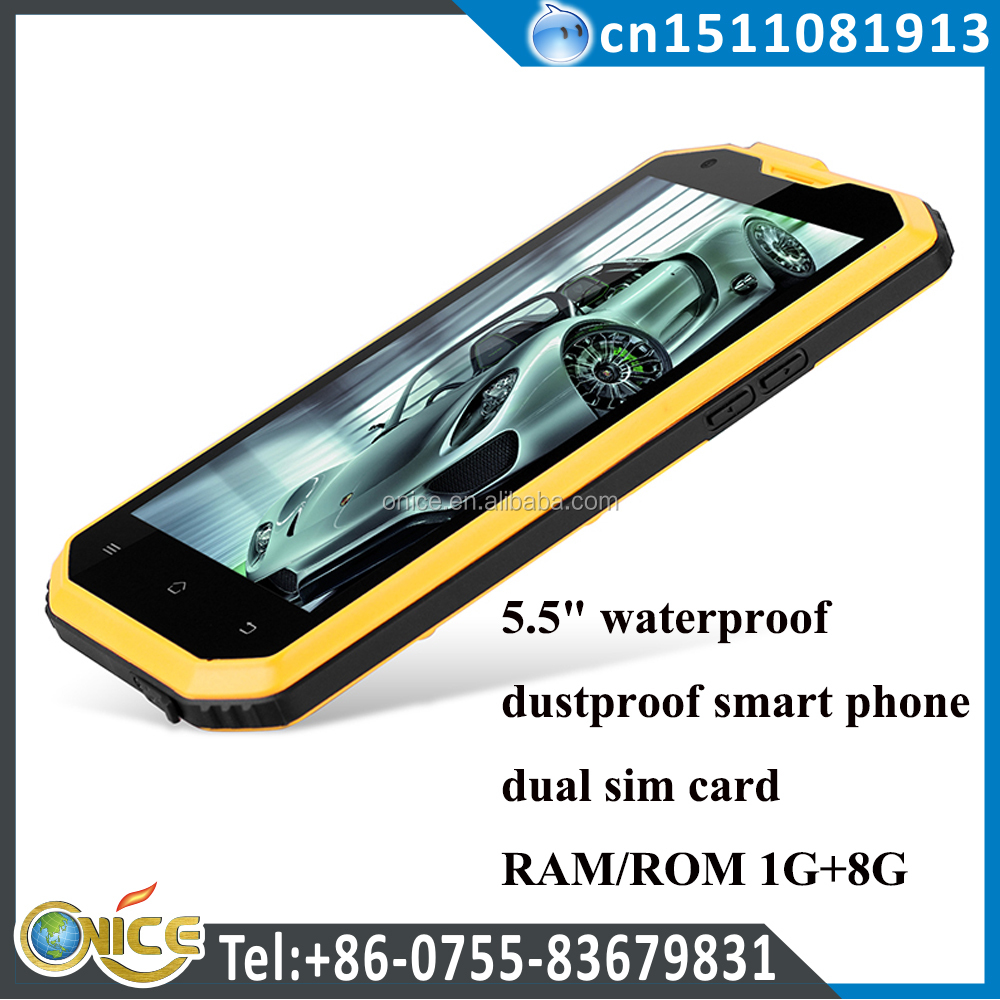 "X2 5.5"" no 1 mobile phone dual sim card RAM/ROM 1G+8G 1280*720 Front 5.0+rear 13.0mp IP68 ismart canada cell phone wholesale"