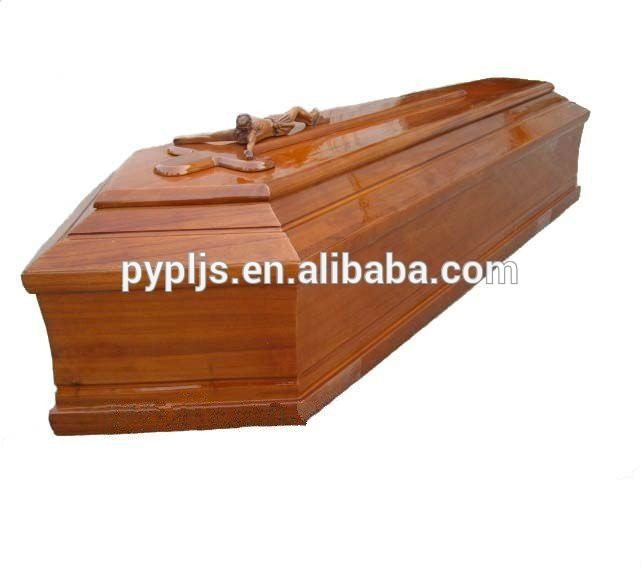 Wood board coffin Italian coffin