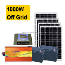DIY Easy installation solar system 1kw with battery
