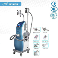 CR-68A Vacuum cavitation system weight loss product with 4 differnent size handles