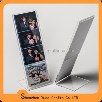 2x6 Photo Booth Frame 2x6 Acrylic Slanted L Photo Strip - Buy L ...