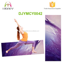 Premium Natural Rubber Great Comfort And Eco-Friendly 1730*610 Yoga Mat With Printing