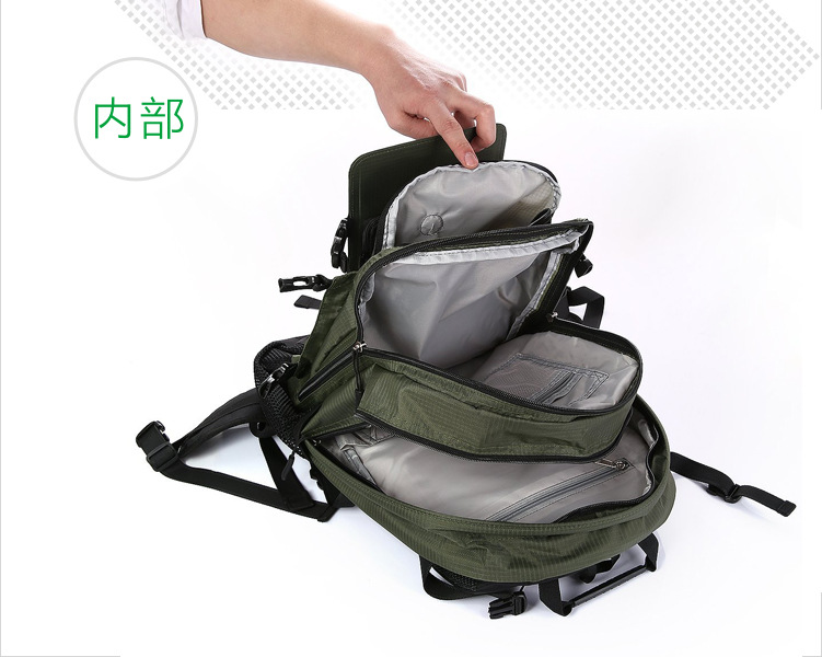 2020 new design solar backpack bag for men