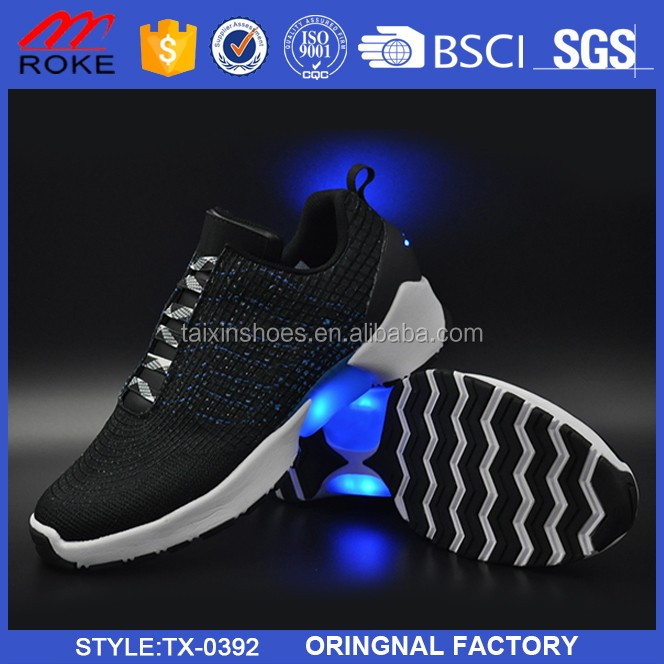 Wholesale Yeezy Men Led Shoes Light up Sneaker Jinjiang Supplier