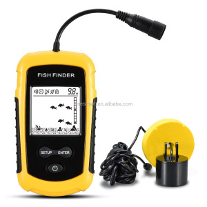 lucky portable sonar fish finder deeper findfish Ultrasonic fish finder for Ice Ocean Fishing fish finder boat bite fishfinder