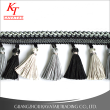 Tassel curtain fringe for curtains trimmings,decoration fringe curtain