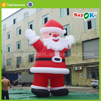 Superb Giant Inflatable Santa Claus For Christmas Decorationoutdoor Easy Diy Christmas Decorations Tissureus