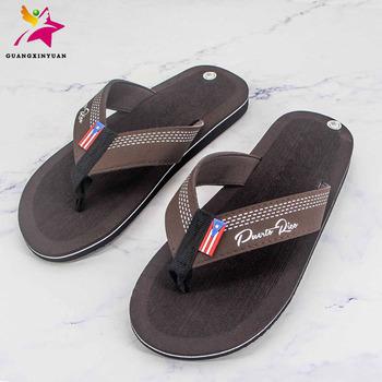 18229897eada3 Custom Men Eva Slippers Sandals Custom Printed Made Flip Flops 2018 ...