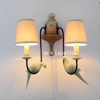 Decorative fabric lamp shade bird cage chandeliers pendant lights decorative fabric lamp shade bird cage chandeliers pendant lights aloadofball Image collections