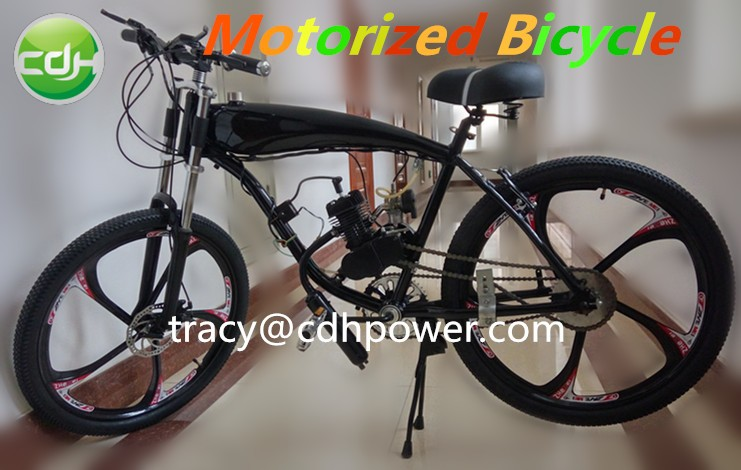 motorized bicycle for sale bicycle frame with gas tank built 2 stroke engine kit - Motorized Bike Frame