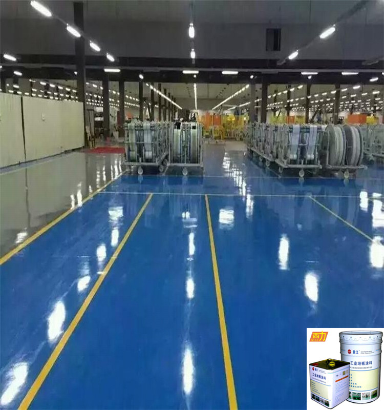 Anti-static marine coating ceramic epoxy floor paint with great price