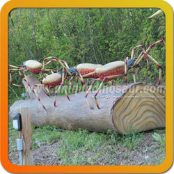 Mechanic Sculpture Spider Model Animatronic Insect Model