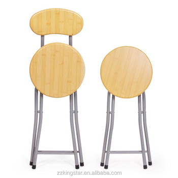 Stupendous Factory Supplier Wooden Round Top Metal Folding Chair Buy Folding Chair Metal Folding Chair Metal Chair Product On Alibaba Com Ibusinesslaw Wood Chair Design Ideas Ibusinesslaworg