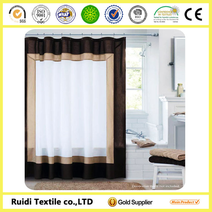 2014 Latest New Model Curtain Design Style Shower Good Quality