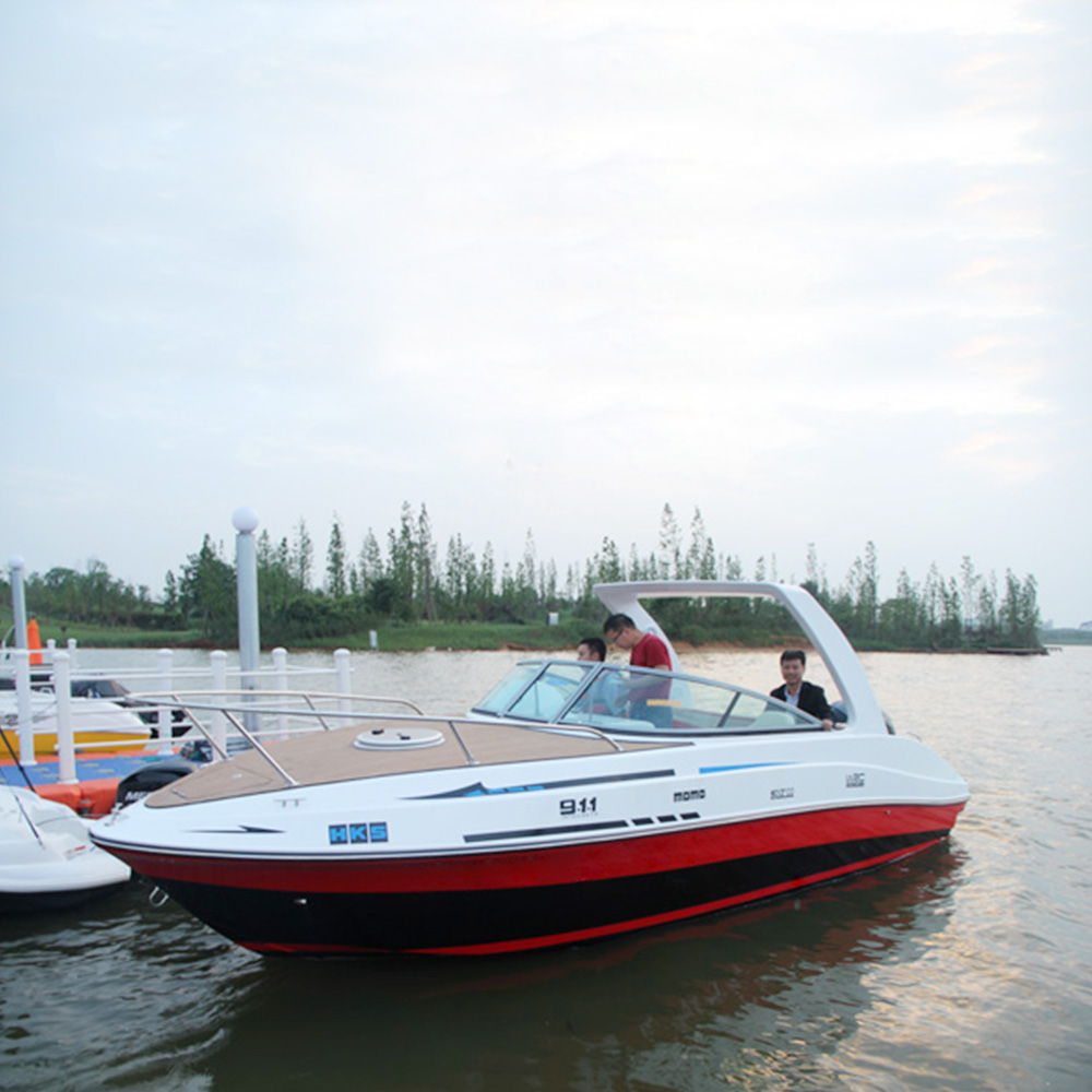 China yacht Fishing yacht High quality Fiberglass <strong>boat</strong> Customized yachts