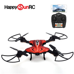 Custom toys DIY Bricks small personal 2.4G selfie drone with FPV WiFI 720P Camera