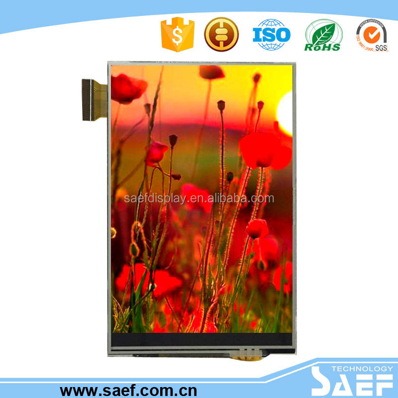 3.5 inch lcd module with 320*(RGB)*480 touch screen oled touch screen display