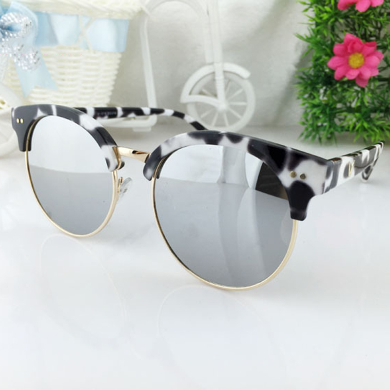 Summer big frame is not a wooden lens optical wholesale custom polarized PC material sunglasses