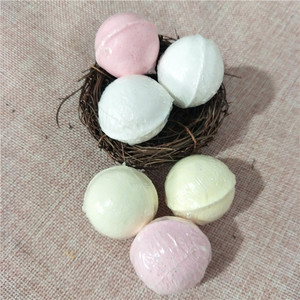 Private label 100% Pure Natural Essential Oil Handmade bubble bath bombs salts ball