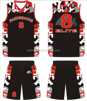 5cae9cbcb50 2017 blank wholesale latest best Sublimated reversible Custom Basketball  Jersey design