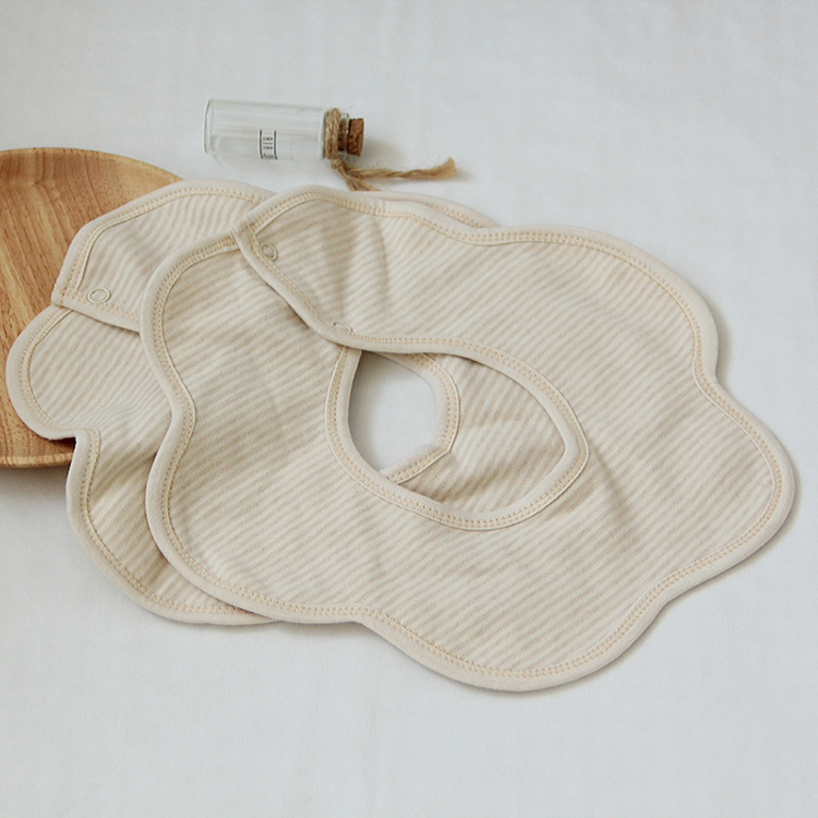Absorbent Organic Cotton Baby Bibs