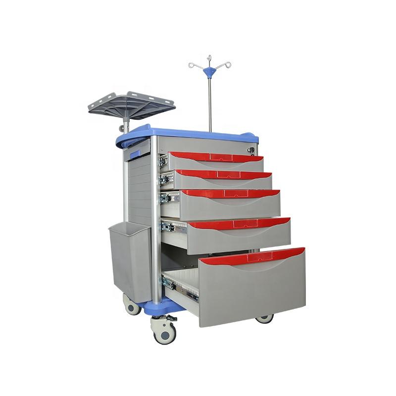 Больничные тележки, изготовленные из АБС или ПП, могут выполнять различные функции для обеспечения высококачественного, недорогого лечения для пациентов