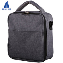 School Waxed Canvas Lunch Bag For Men