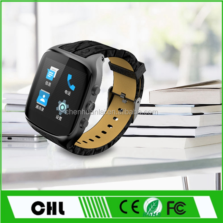 Smart X01s 1.54 inch Display Dual Core Single SIM 1GB RAM 8GB ROM 3G WCDMA GPS WIFI Android Smart Watch