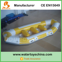 0.9mm PVC Tarpaulin Whitewater Rafting Boats / Inflatable Drift Boat Price