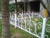 Hot selling cheap european wrought iron ornamental fence for garden fenceing
