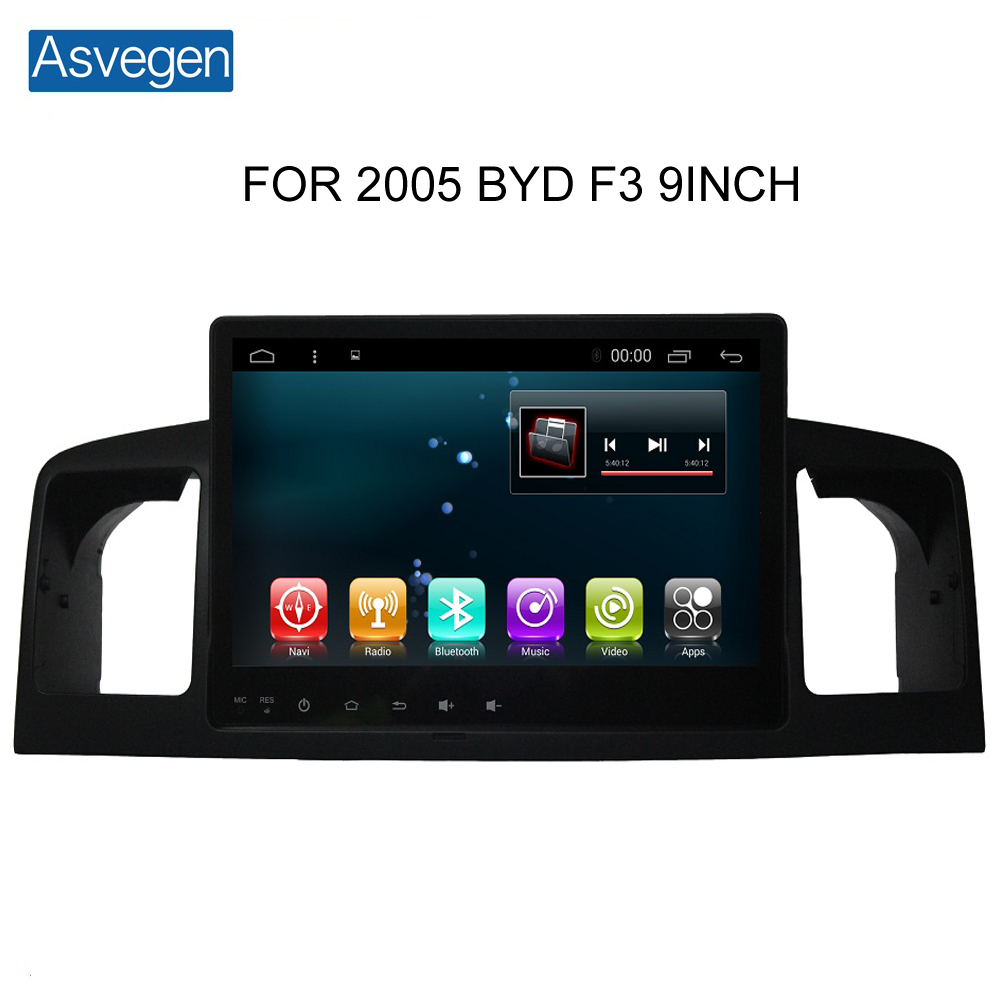 Wholesale Android 6.0 Touch Screen Car GPS Navigation Device For BYD F3 2005 Support Stereo Audio Radio Video Bluetooth Player