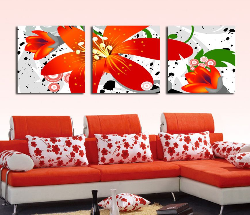 Fashion canvas art <font><b>elegant</b></font> painting flowers pictures on canvas <font><b>decoration</b></font> art painting for <font><b>home</b></font> <font><b>decoration</b></font>
