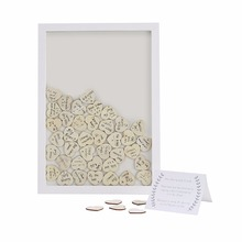 Wedding Guest Book for Wall Decoration in white color