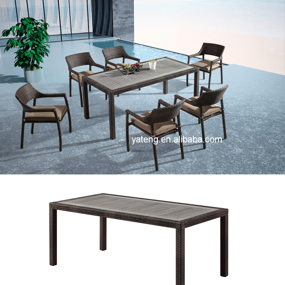 Plastic Wood Table Chair, Plastic Wood Table Chair Suppliers and ...