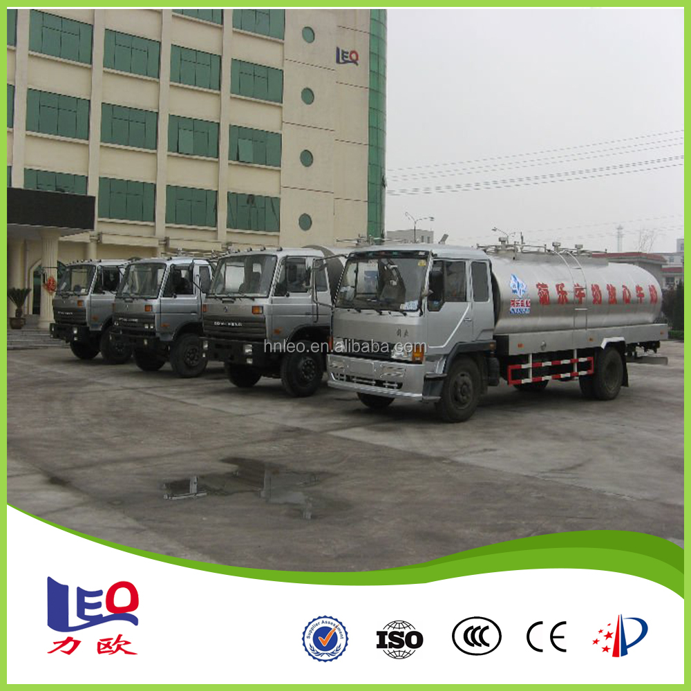 Road Milk Tanker For Milk Transportation With The Most Reasonable Price