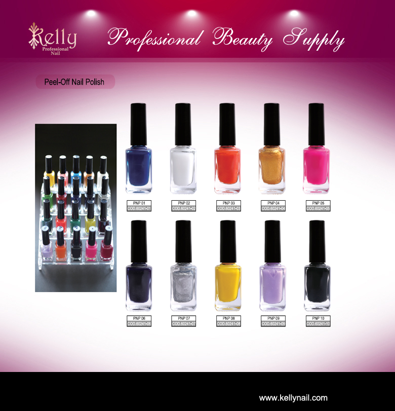 Harmless Peel-Off Nail Polish Easy Apply Easy Peel
