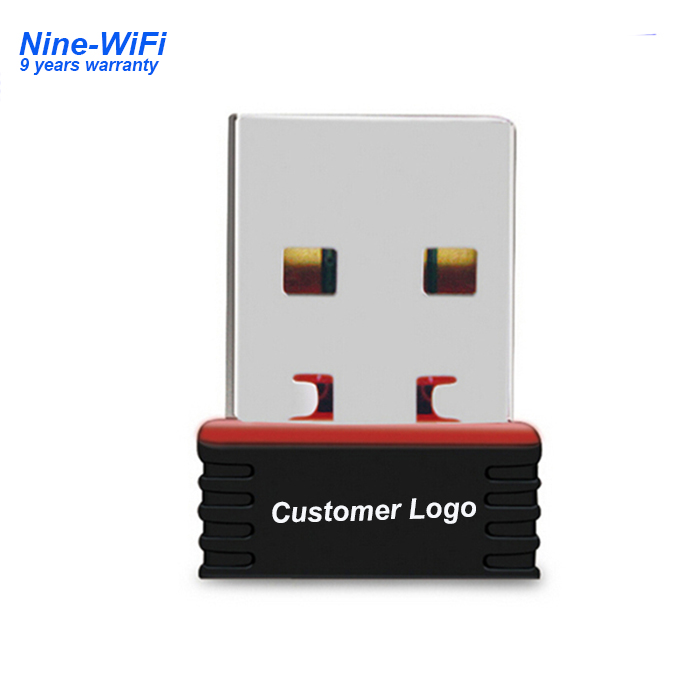 Nano wireless usb 2.0 150 mbps mini usb lan dongle mt7601 wifi adattatori per android tablet