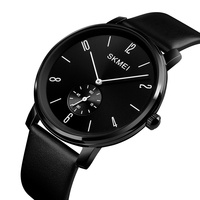 skmei 1398 men quartz watch new design skemi leather wristwatch