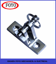 China supplier stainless steel 316 Deck Mount with Removable Pin
