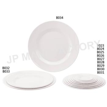restaurant design white round melamine dinner plates - Melamine Dinner Plates