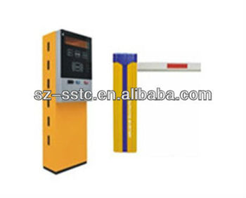 Full Automatic Rfid Parking Barrier System/led Parking Sensor ...