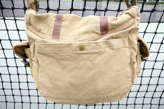 2810 Vintage Khaki Washed Canvas Mens Satchel Bags College Bag ...