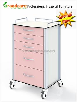 Mobile Hospital Cabinet With Drawers Used For Hospital Dental ...