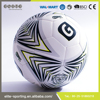 High quality pu leather soccer ball and training football