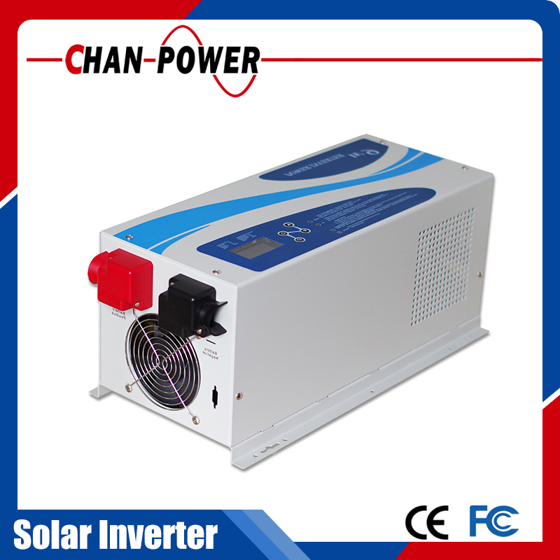 Hot! CE ISO apved 1000w-6000w built in 40A/60A MPPT controller pure sine wave inverter power supply 24v 20a