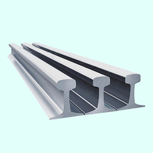 cheapest steel way train rail for sale