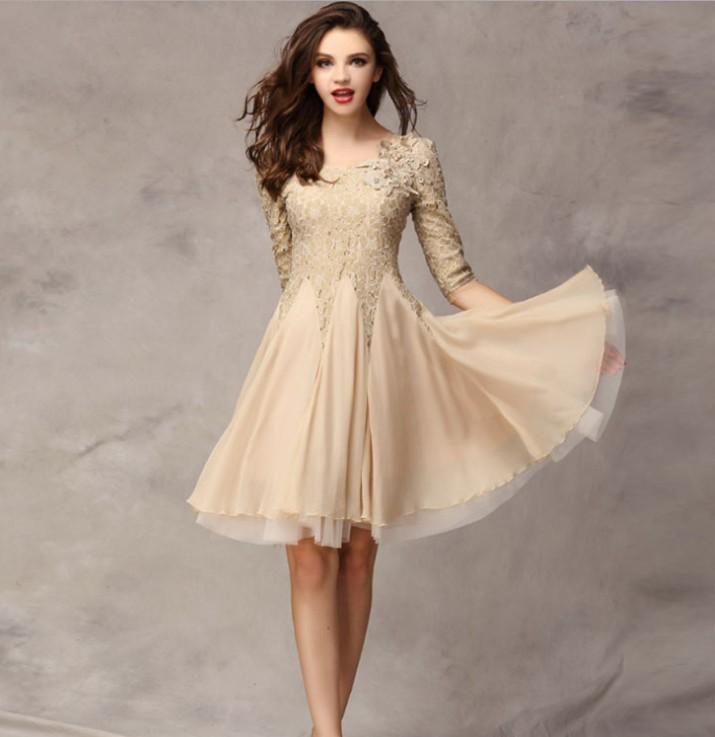 elegant dress lace - photo #38
