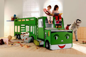 kid fire truck bed kids truck bed with writing desk - buy truck