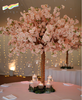 Artificial silk cherry blossom table tree flowers wedding centerpiece trees for sell decoration wholesale