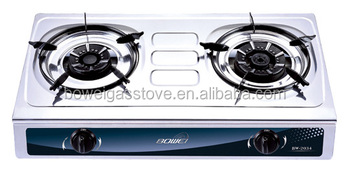 Portable Double Burner Butane Gas Stove BW 2034 Table Top Gas Cooking Cooker